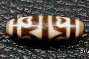 虎牙蓮花天珠(高級藏傳天珠)の 単品