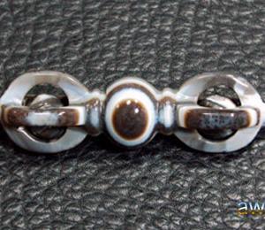 天眼珠系列彫刻物天珠 金剛杵