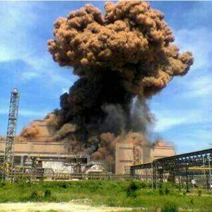 【アーカイブス+】ポスコ・クラカタウ製鉄工場で爆発事故