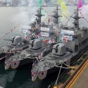 韓国新型高速艇4隻全てがエンジントラブルで運用不可?あれ?引き渡されたばかりだよね
