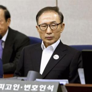 韓国の元大統領、実刑判決で懲役刑が確定