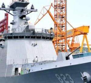 韓国海軍大邱級フリゲート5番艦、進水!