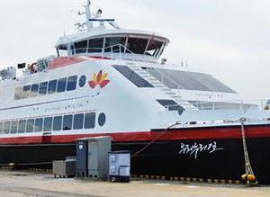 韓国海軍護衛艦が旅客船を誤って砲撃!