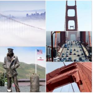 サンフランシスコで一番人気な観光地 『ゴールデンゲートブリッジ』