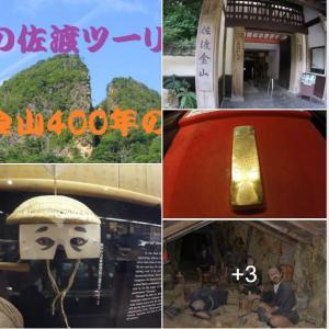 佐渡 だけでも 年間、『金』400 kg /日本中の金銀は、世界中を動かしていたんだね !