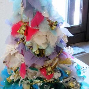 ミニ・クリスマス・ツリー&今日はクリスマスツリーの日