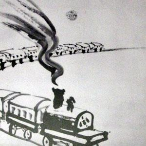 今日は鉄道の日(10/14) ~絵画