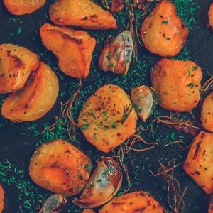 【禁断の贅沢】牛脂を使った超カリッカリのローストポテトの作り方