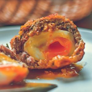 絶対に外れないイギリス料理半熟トロトロスコッチエッグの作り方