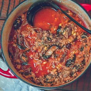 しっかりと辛くて美味い!韓国ユッケジャン風スープの作り方