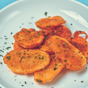 【新感覚】ポテチとフライドポテトの中間バッジャの作り方レシピ