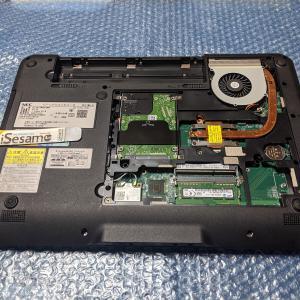 【VersaPro VK27MX-K】 CPUをCore i7-4710MQへ交換+メモリを16GBに増設