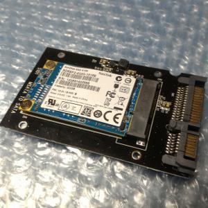不要になったmSATA SSDを再利用する(SATA SSD化)