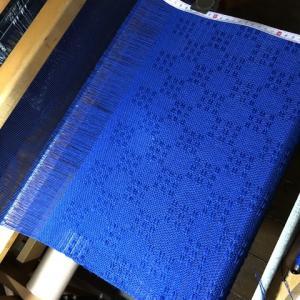 ラムウールのブルー、1本目187cm、2本目どうしようか・・・