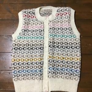 羊畑編み上がった😊、ショッペルのモヘアレース糸を編んでみたい