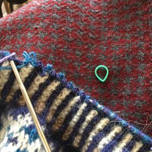 2目ゴム編み再起動