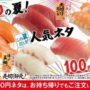 スシロー 限定100円