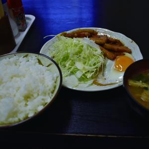 チャーシュー定食850円「森の茶屋」(上野)