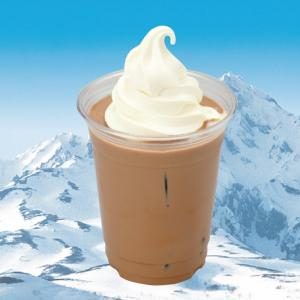 道外初「白い恋人チョコレートドリンクフロート」期間限定販売