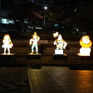 清渓川(청계천) ピッチョロン祭り(빛초롱축제)2