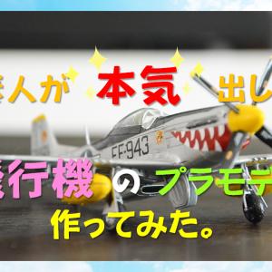 素人が本気出して飛行機のプラモデル作ってみた。【ストレス解消】