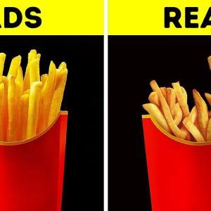 「ポテトをかさ上げ」CMの食べ物と実際の商品が違うのはなぜ? 海外の反応
