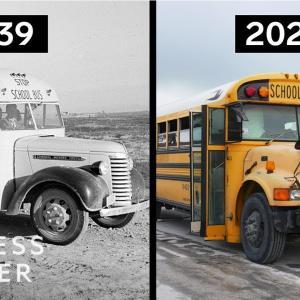 アメリカのスクールバスはなぜ変わらないのか 海外の反応