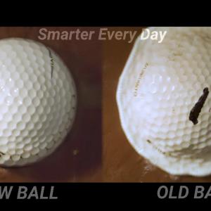 「ゴルフボールってどれだけ強く打てるの?」ゴルフボールを限界を超えてショットしてみた 海外の反応