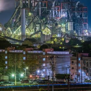「FF7?それともアキラ?」九州の三菱セメント工場が幻想的だと話題に 海外の反応