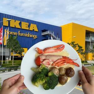 シンガポールのイケアの食事 海外の反応