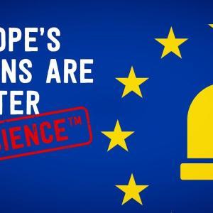ヨーロッパのサイレンが科学的に優れていることが証明されている理由 海外の反応