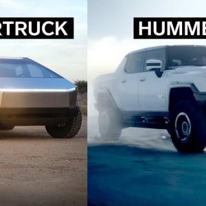 「地球人用と火星人用?」テスラ「サイバートラック」VS GMC「ハマーEV」 海外の反応