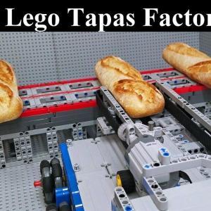 レゴで作ったタパス工場がスゴイ! 海外の反応