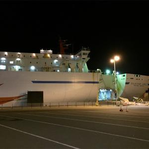 北海道へ商船三井フェリーで行く( ´ ▽ ` )ノ