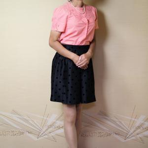 自宅で一人遊び(95) 2019年9月(4) ピンクのブラウスで、ちょっと気になる「隣の奥さん」