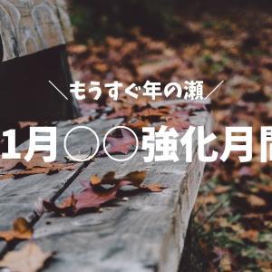 *今のうちにやっておきたい!11月○○強化月間*