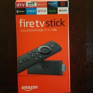 Fire tv stickを買ったらショック(笑)