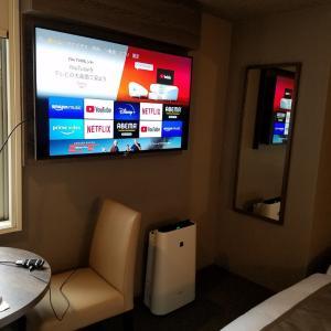 ホテルでfire tv stickを繋いでみた