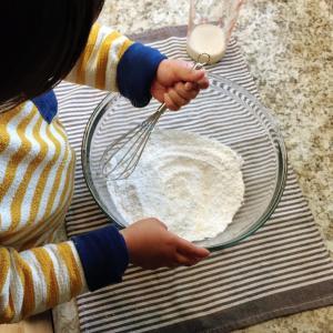 子どもと一緒に!白玉粉を使ってポンデケージョ