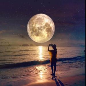 月のリズムに合わせて