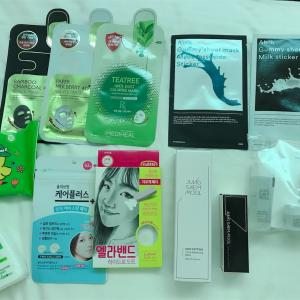 韓国の薬局『olive young オリーブヤング』での購入品