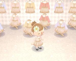 *春色お散歩コーデ全8色+おまけ*