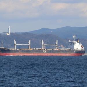 日豊海運 ばら積み船 IKAN PANDAN