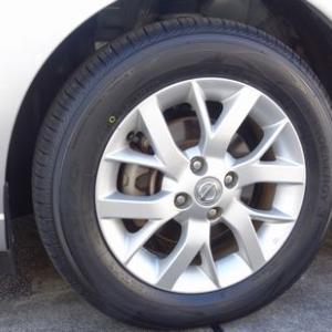 タイヤ、替えました