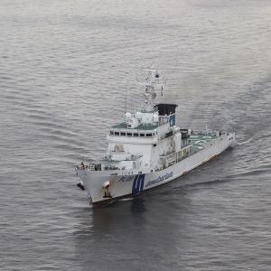 9/13 東京晴海に来航した海保巡視船