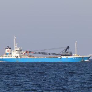御前崎海運のガット船「富栄丸」