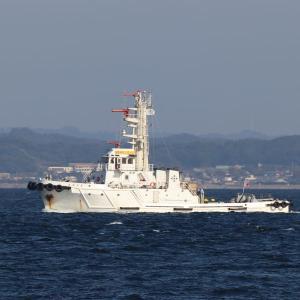海上災害防止センターの消防船「おおたき」