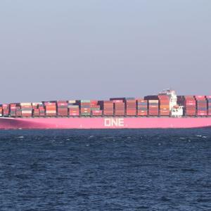 コンテナ船 ONE HONOLULU