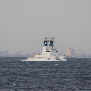 2/23 測量船「海洋」と消防船「ひりゆう」