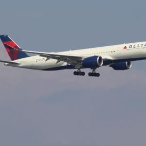 デルタ航空 エアバスA350-900(N510 DN)
